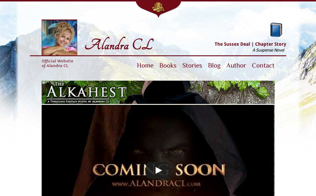alandra-cl-author-website