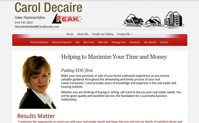 carol-decaire-website