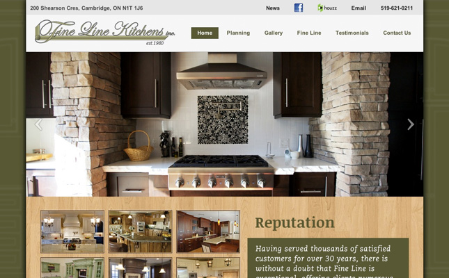 fine-line-kitchens-website