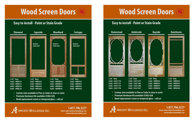 amherst-mouldings-wood-screen-doors-product-sheet